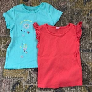 Two 4T toddler shirts